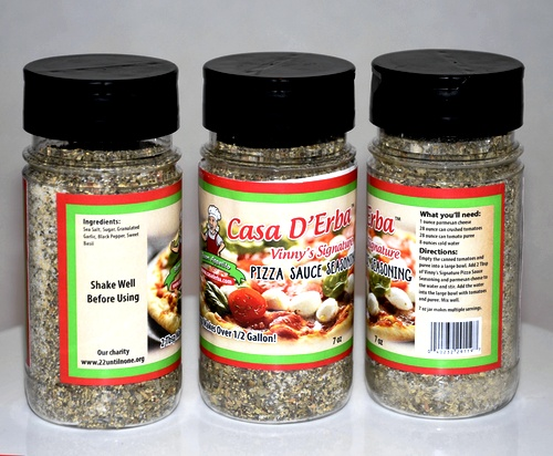 Casa D'Erba Pizza Sauce Seasoning