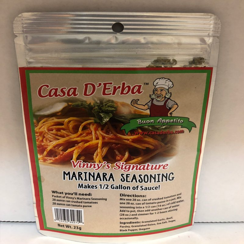 Casa D Erba Marinara Seasoning