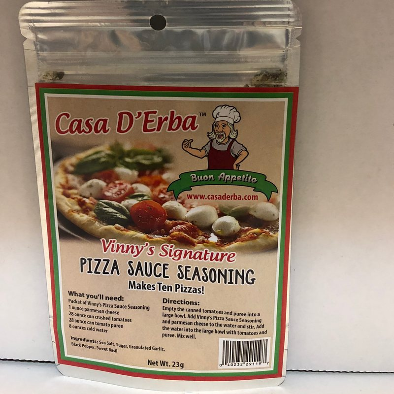 Casa D Erba Pizza Sauce Seasoning
