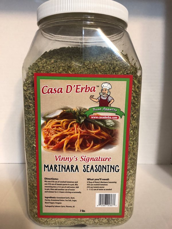 marinara seasoning